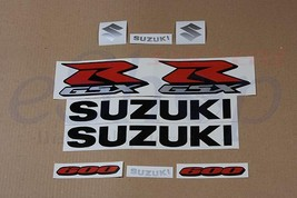 Suzuki GSX-R 600 2007 K7 2008 K8 Black version full decals stickers set kit - $46.00