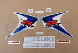 Suzuki GSX-R 600 2006 K6 Blue White version full decals stickers set kit - $75.00