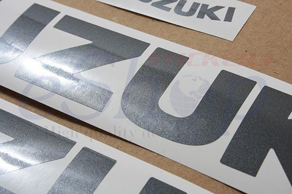 Suzuki GSX-R 600 2006 K6 Black Grey version complete decals stickers set kit