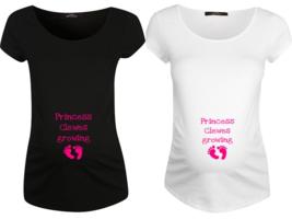 Personalised Maternity Wear Top T Shirt Tees qu... - $19.43