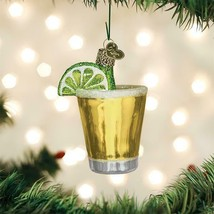 OLD WORLD CHRISTMAS TEQUILA SHOT DRINK GLASS CHRISTMAS ORNAMENT 32334 - $12.88