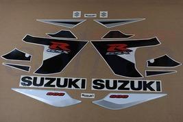 Suzuki GSX-R 600 2005 K5 Black Silver version full decals set stickers kit - $85.00