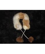 Alpaca fur stola, fur neck scarf,  - €55,83 EUR