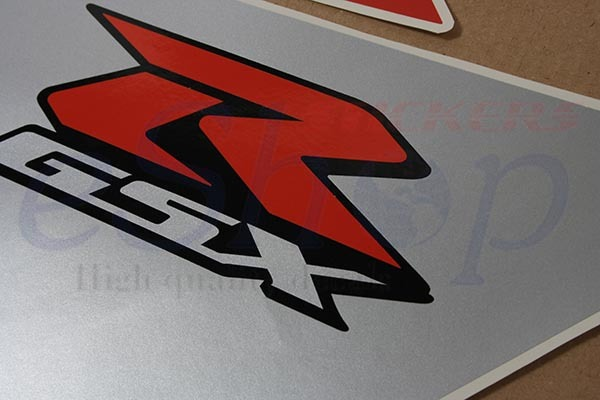 Suzuki GSX-R 600 2005 K5 Red Black ver. full decals set stickers kit Aufkleber