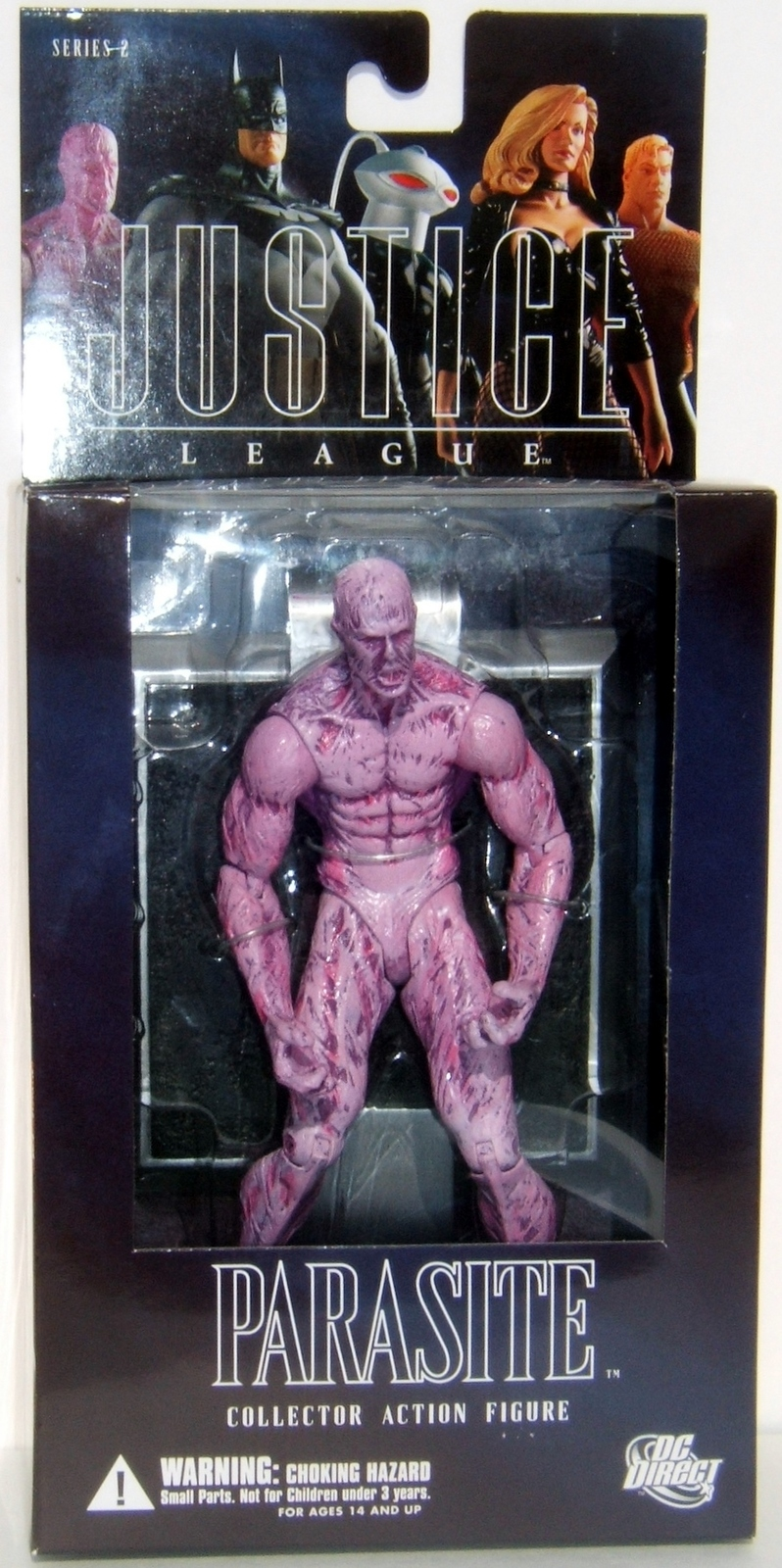 DC Direct Alex Ross Justice League Parasite Series 2 MOC Action Figure