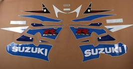 Suzuki GSX-R GSXR 600 2003 K3 Blue/White version Full decals stickers se... - $98.00