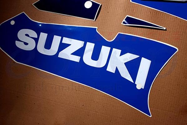 Suzuki GSX-R GSXR 600 2003 K3 Blue/White version Full decals stickers set kit