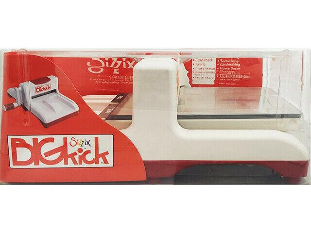 New! Sizzix BIGkick Die Cutting Machine #654425