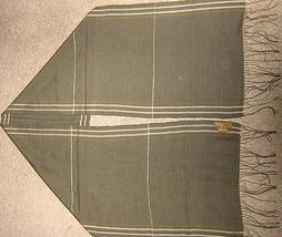 Scarf of  Babyalpaca wool and Silk fabric, shawl  - $1.499,62 MXN