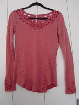 Free People Blue Luna Top in Watermelon (Size: Small) NWT - $50.00