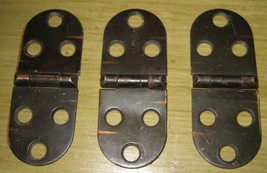 Japan Manufactured Sewing Machine Table Top Hinges Set of 3 - $2.75