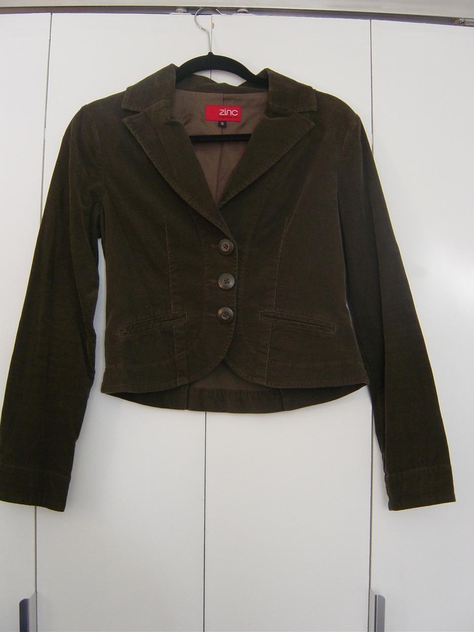 Zinc Jacket in Dark Green (Size: Small) EUC - $28.00