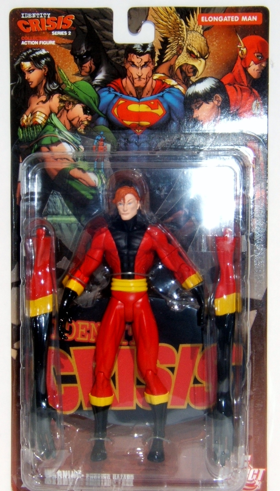 DC Direct Identity Crisis The Elongated Man Series 2 MOC Action Figure