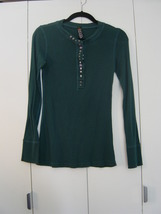 Free People Studded Knit Henley (Size: Medium) EUC - $35.00