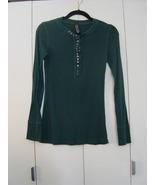 Free People Studded Knit Henley (Size: Medium) EUC - $35.00