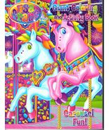Lisa Frank Carousel Horse Fun Coloring and Activity Book for Children New  - $2.49