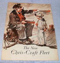 Original Chris Craft Boats 1931 Sales Catalog Brochure Algonac Michigan - $69.95