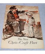 Original Chris Craft Boats 1931 Sales Catalog Brochure Algonac Michigan - $69.95