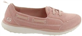 Skechers Microburst Bungee Slip-On Shoes -Topnotch Rose 10M NEW A302829 - $49.48