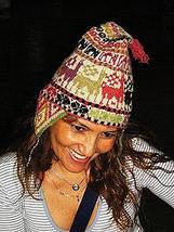 Original Peruvian Chullo, Hat warm pure Alpaca wool  - $34.00