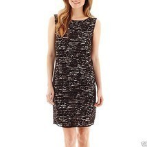 Stella Parker Sleeveless V-Back Lace Sheath Dress Size 2 New Msrp $70.00 - €17,68 EUR