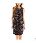 Stella Parker Sleeveless V-Back Lace Sheath Dress Size 2 New Msrp $70.00 - £16.01 GBP