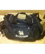 SINGHA BEER--LARGE DUFFEL / TRAVEL / CARRY ON BAG--BLACK--  ---FREE SHIP... - $28.89