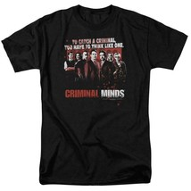 Criminal Minds cast t-shirt To catch a criminal TV series graphic tee CBS1226 image 1