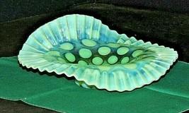 Green Fenton Dish AA20-7342 Vintage - $99.95