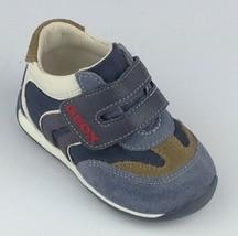 Geox Giove 1 Hook-and-loop Sneaker (Toddler),Navy,19 EU (4 M US Toddler) - $24.74