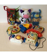 Fisher Price Lot Toys Laugh and Learn Cow Sing A Ma Jig Camera Phone Boo... - $29.99