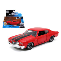 Doms Chevrolet Chevelle SS Red Fast & Furious Movie 1/32 Diecast Model C... - $15.86