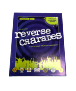 Reverse Charades Party Game USAopoly Acting Kids Family Open Box Sealed ... - $34.88