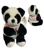 "vintage Dakin Panda Magic bear teddy plush 1987 size 10"" inches - $24.64"