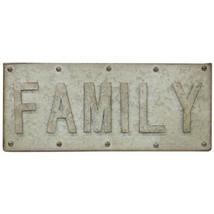 Family Galvanized Sign - $40.80