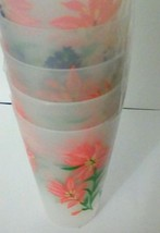 Floral Plastic Drinking Cups - $8.60