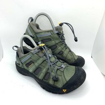 Keen Green Leather Waterproof Hiking Low Top Trail Boots Shoes Sandal Wo... - $34.60