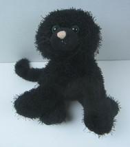 "Ganz Webkinz Solid Black Kitty Cat 8"" Plush Stuffed Animal No code - $11.29"
