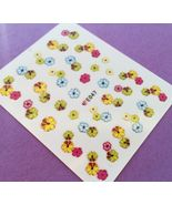 BANG STORE Nail Art 3D Decal Stickers Flowers CUTE AND FUNNY - $3.68