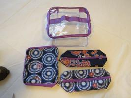 Avon Marke Damen Verrückte Für Gesteppt Kosmetiktasche F3883011 4 Teile Neu - $16.02