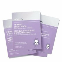 Avon Anew Firming Sheet Mask With Royal Jelly Essence 4 Count $30 NIB - $14.83