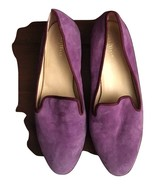 COLE HAAN Women Nike Air Purple Plush Flat Ballet  Shoes 9 B/M /40 EUR - $51.47