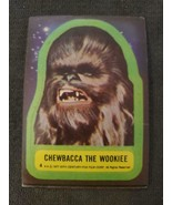 Chewbacca 1977 Star Wars STICKER #4 ~ Chewbacca The Wookiee - £2.61 GBP