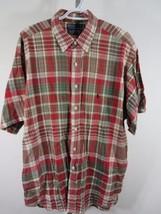 Ralph Lauren Polo Tissé Chemise Taille XXL Rouge Vert à Carreaux Marine - $32.48