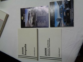 2005 Chevy Impala Owners Manual Set Oem Free Shipping! - $8.70