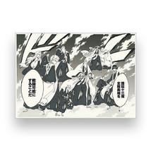 Weekly Shonen Jump 50th Exhibition BLEACH Original Copy 2 Paper Set JAPA... - $56.23