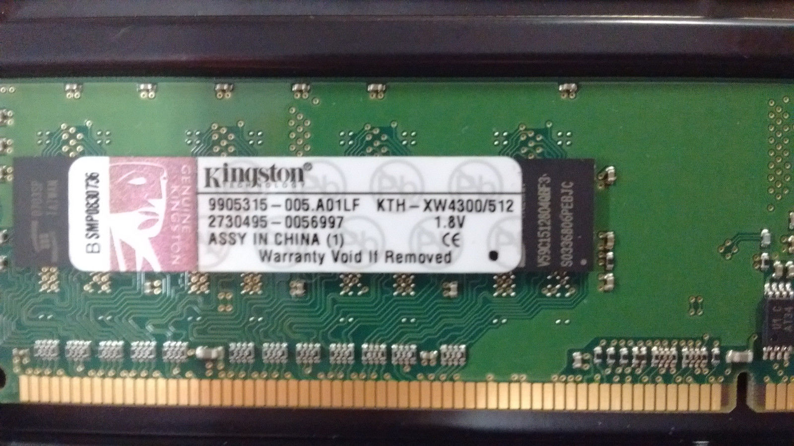 Mixed Major Brand 1GB DDR-2 DIMM PC4200-PC6400 Non-ECC Lot of 10