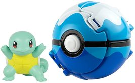 Pokemon Throw 'N' Pop Poke Ball with action Figure Squirtle - $21.00