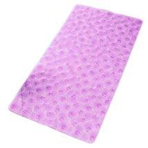 Baby Infant Bathing Mat Toddler Non-slip Ground PVC Rugs Purple 7035CM