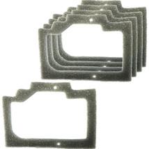 5x HQRP Foam Gasket Air Filters for Homelite UT-10605 UT-10606 UT-10608 UT-10609 - $4.95